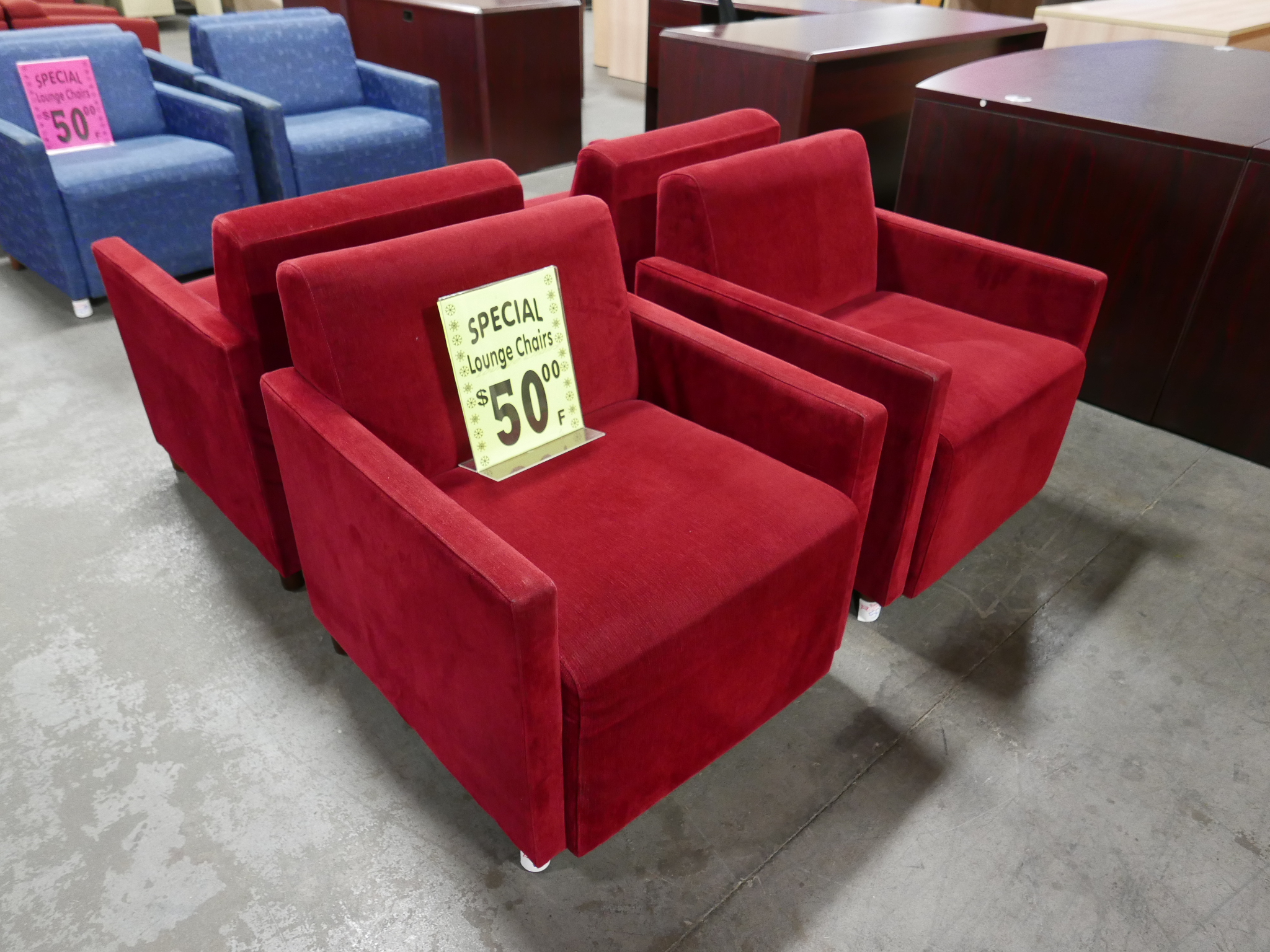 red chairs for sale bedroom chair under 50 lounge cherry mohair by coalesse tr trading company