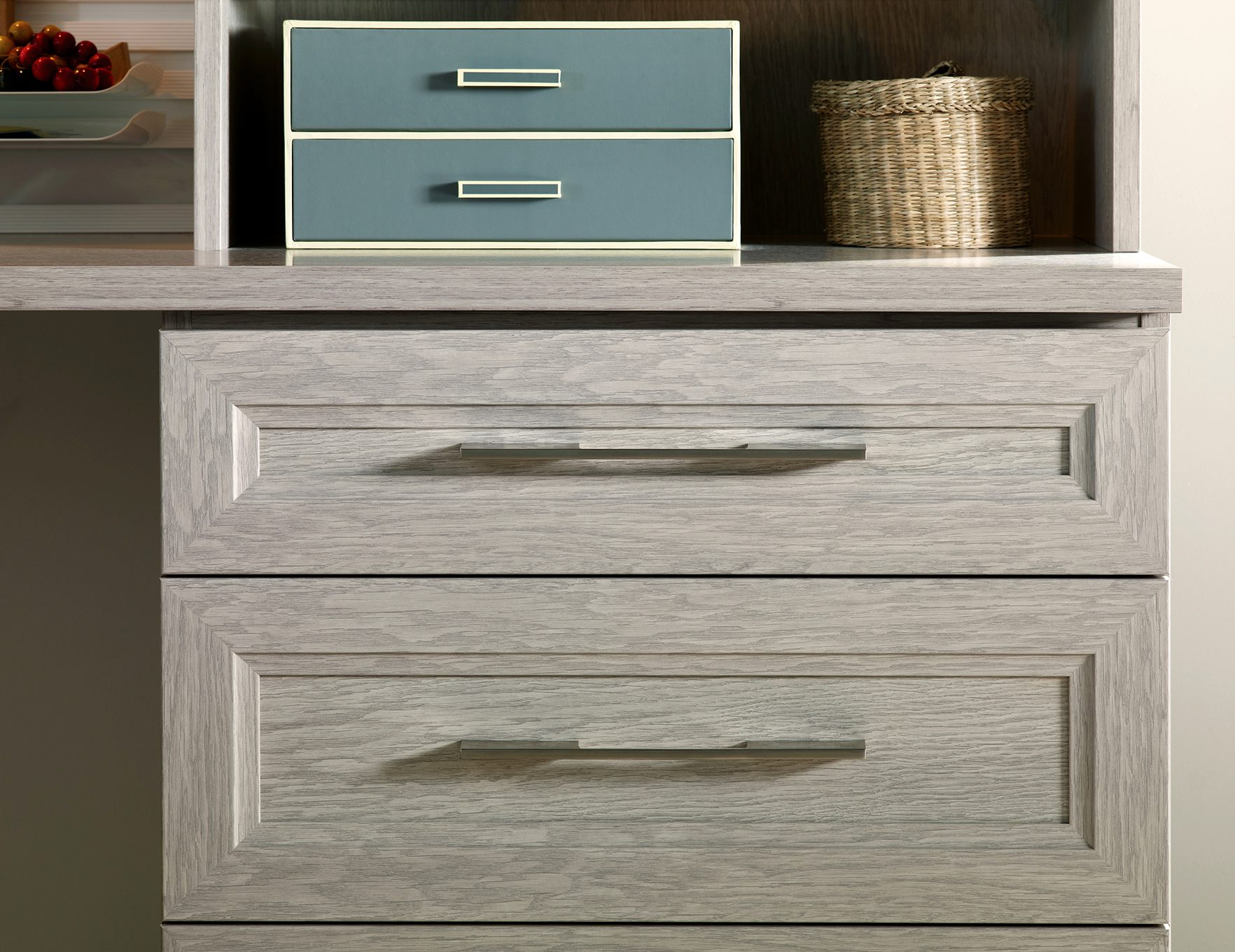 kitchen workbench one hole faucet custom cabinet drawers and closet doors | california closets