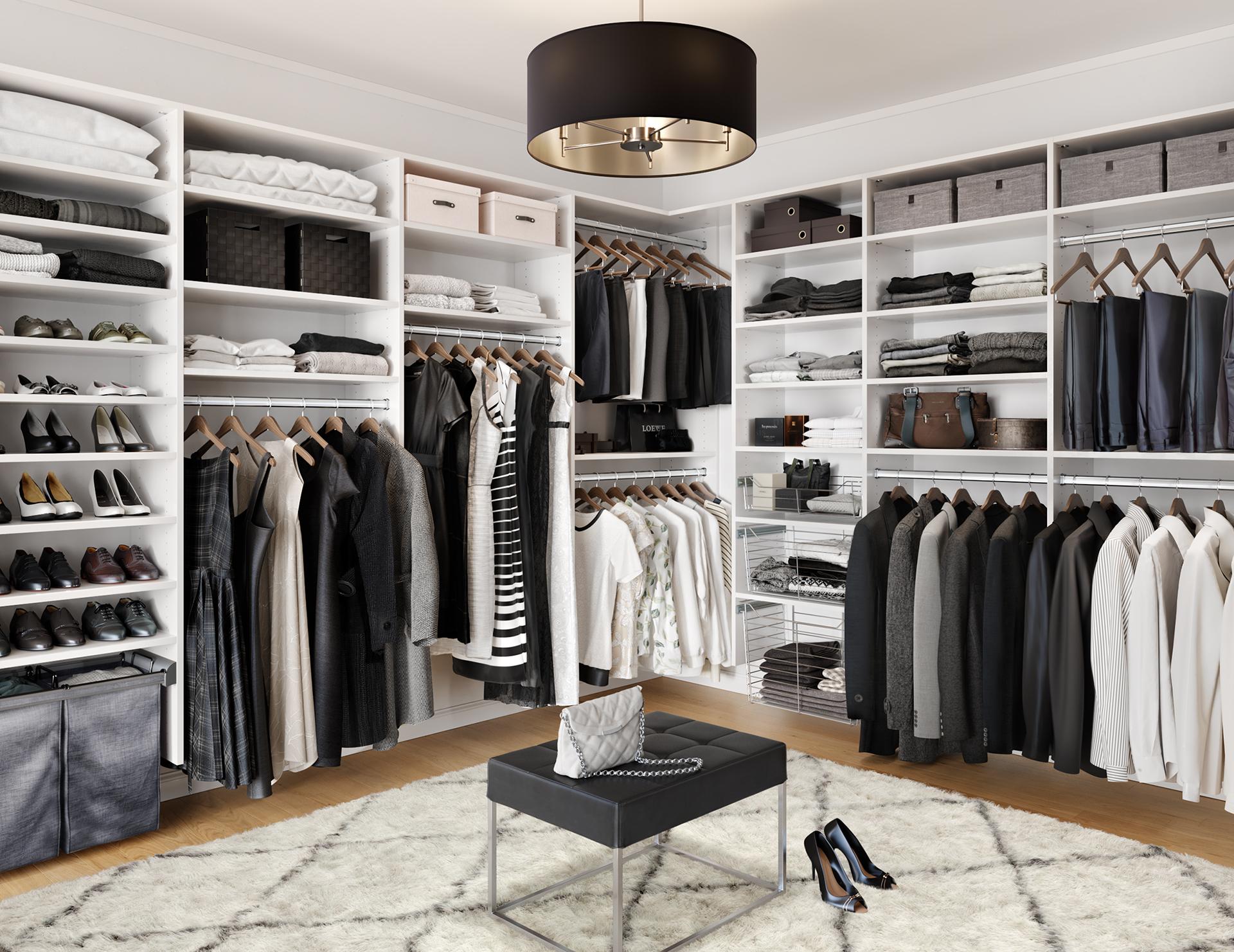 Walk In Closet Systems Walk In Closet Design Ideas