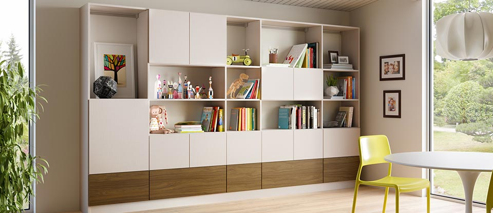 Family Room Storage  Living Room Design Ideas by
