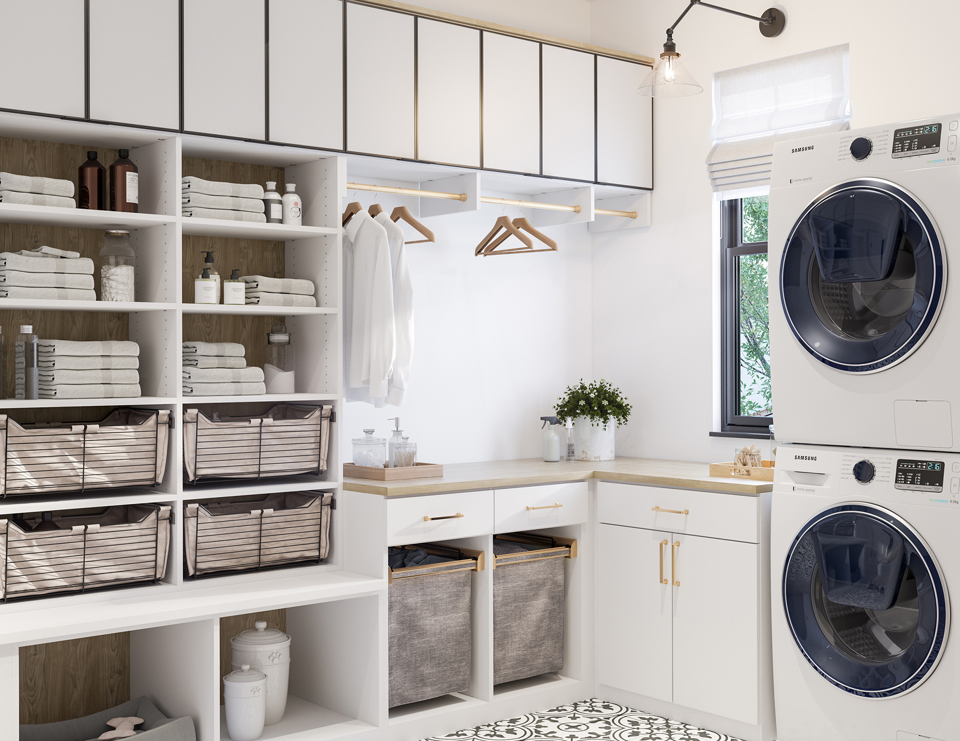 Laundry Room Cabinets Storage Ideas California Closets