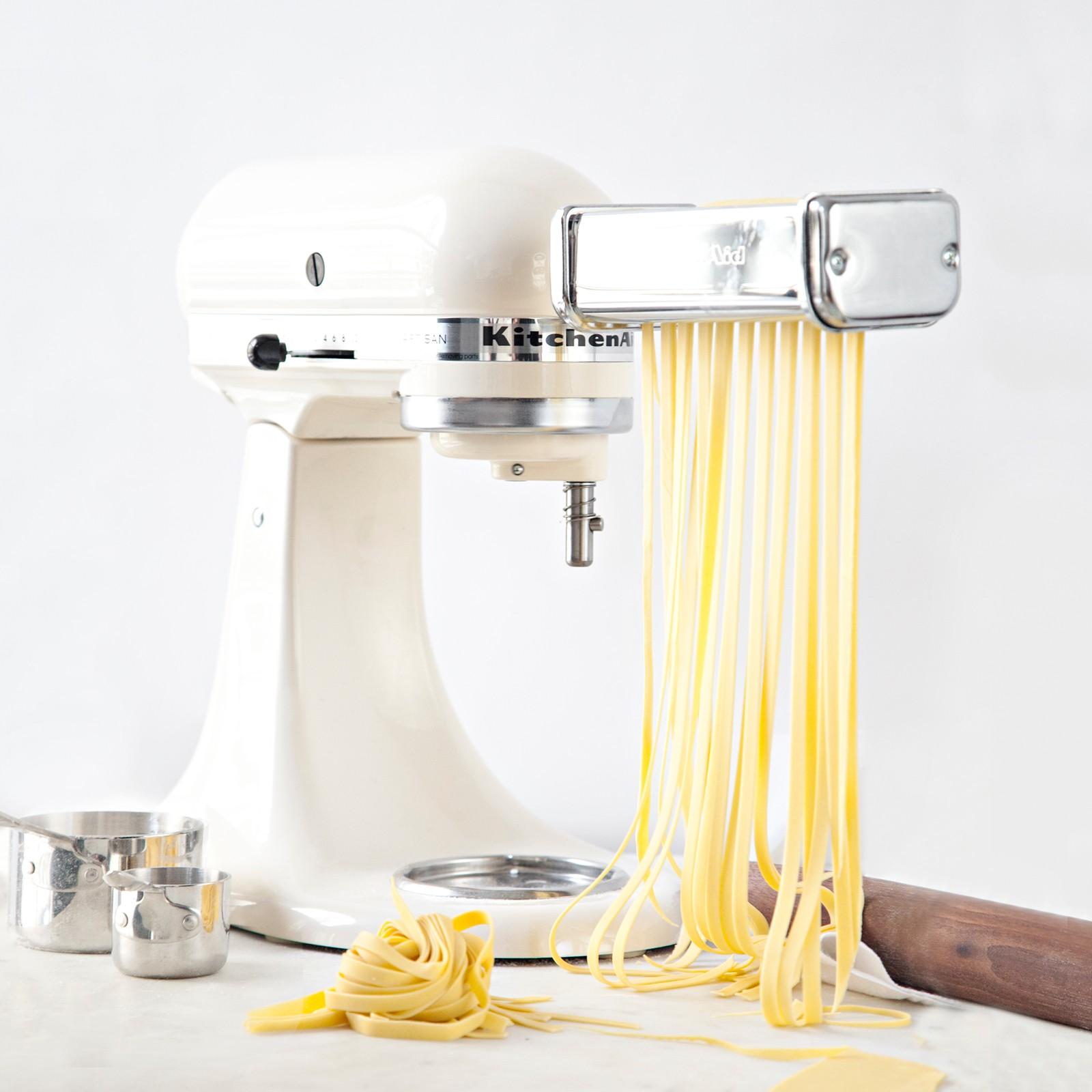 kitchen aid pasta sink grids 3 piece roller cutter stand mixer attachment set zola