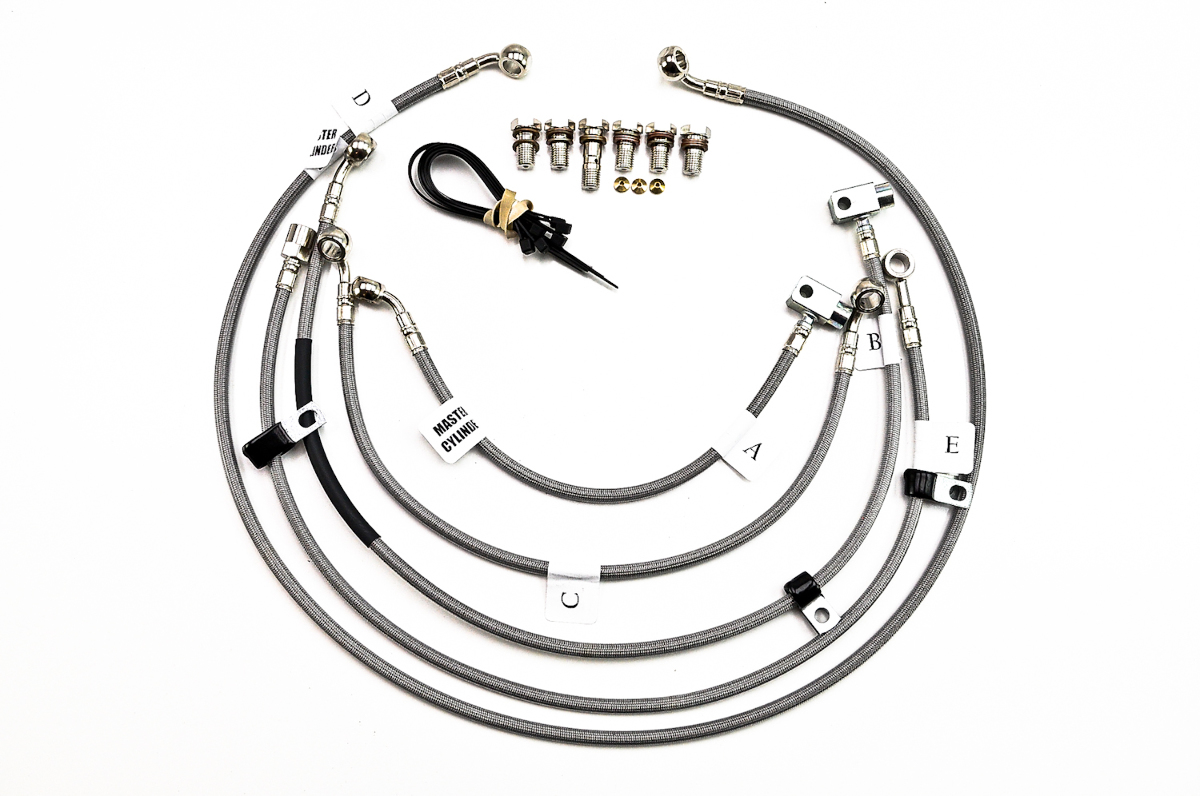 Galfer 5-Line Complete Brake and Clutch Line Kit