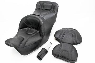 road sofa seat goldwing 2 sitzer fur jugendzimmer saddlemen with driver backrest motorcycleparts2u