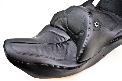 road sofa seat goldwing clearance black leather 01 10 honda gl1800 gold wing saddlemen w driver backrest h988j