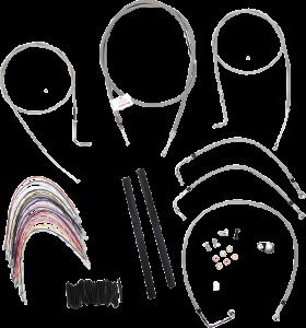 Burly Brand Extended Cable/Brake Line Kit for 16