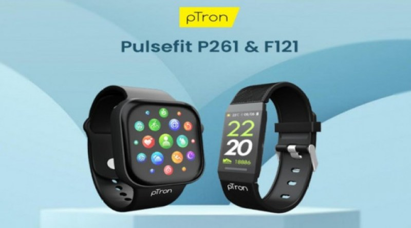 pTron Pulsefit Smartwatch and Pulsefit Fitness Band Launched in India, Know Price and Features