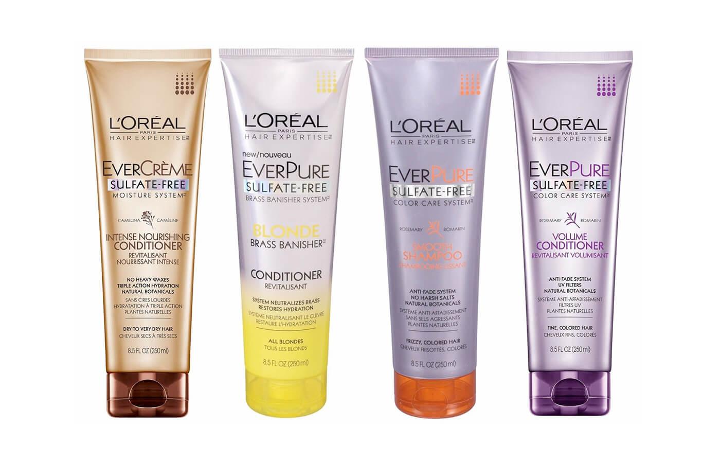 Loreal Everpure Shampoo Dry