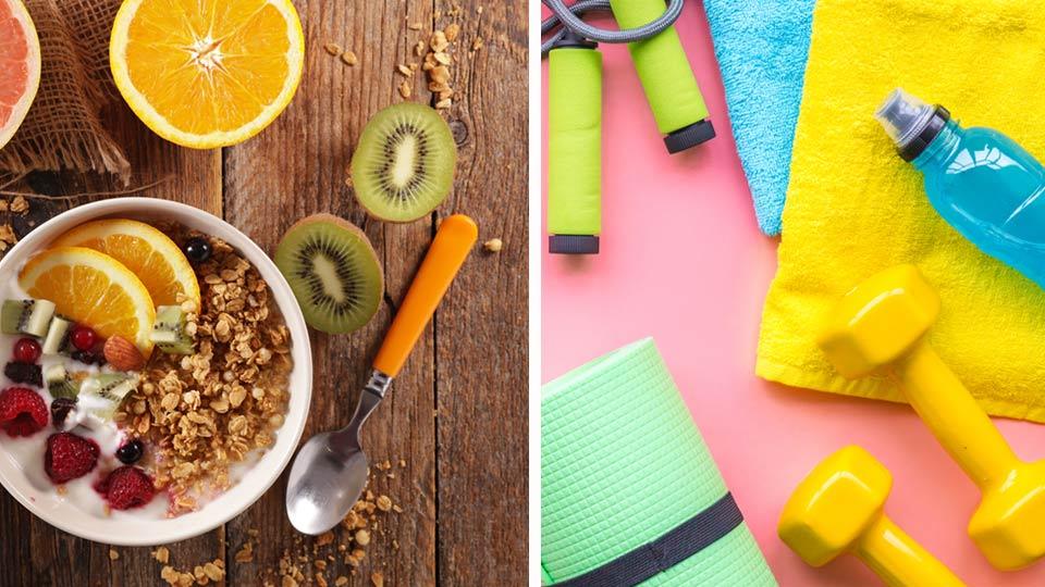 sarapan dan olahraga