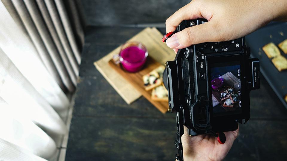 langkah-langkah membuat foto makanan