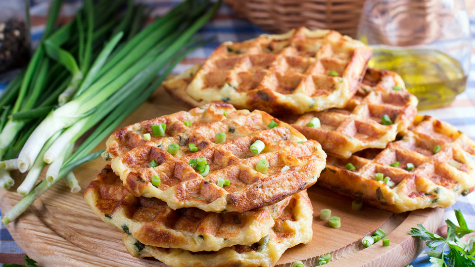 Waffle dari berbagai negara