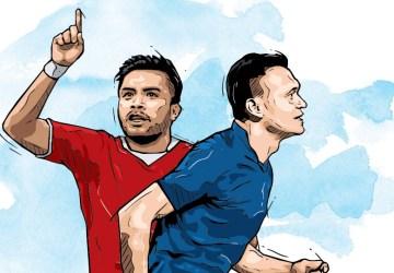 Ferdinand Sinaga Vs Zulham Zamrun, Dulu Kawan Kini Lawan di Liga 2