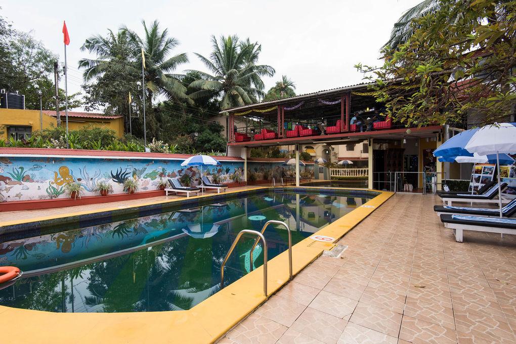 The Goan Village Beach Resort The Pool At The Alegria