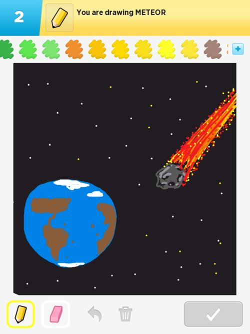 Meteor Drawings How To Draw Meteor In Draw Something