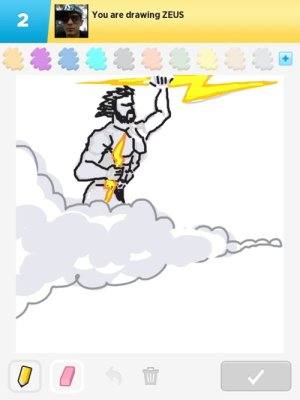 zeus drawings drawing draw something rating paintingvalley