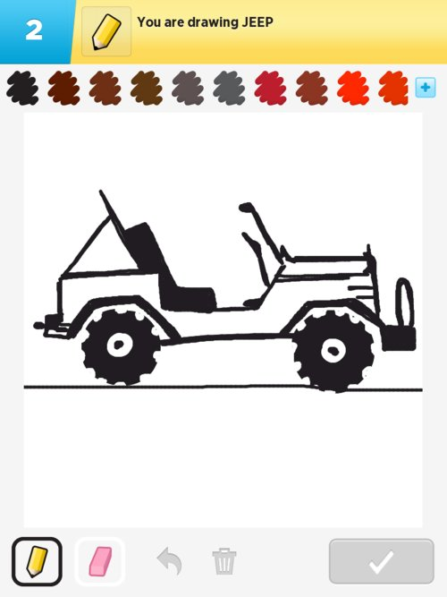 Easy Jeep Drawing : drawing, Drawings, Something, IPhone,, IPad,, Android!