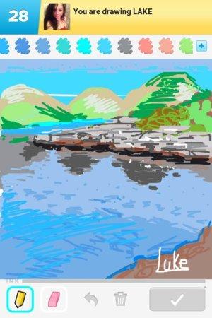drawings lake draw something rating
