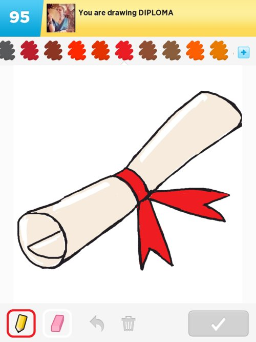 Diploma Drawings  How to Draw Diploma in Draw Something