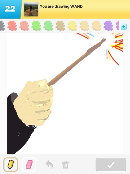 How To Draw A Wand : Drawings, Something, IPhone,, IPad,, Android!