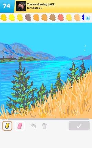 lake drawings drawing draw something rating getdrawings