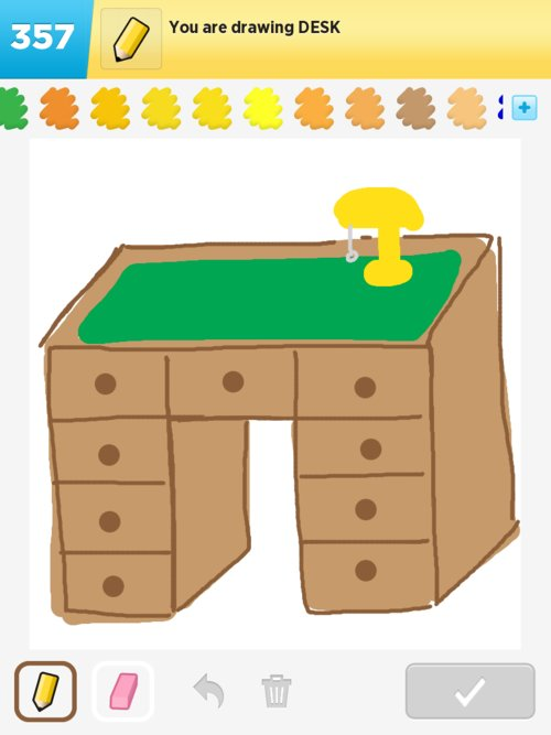 Desk Drawings  How to Draw Desk in Draw Something  The