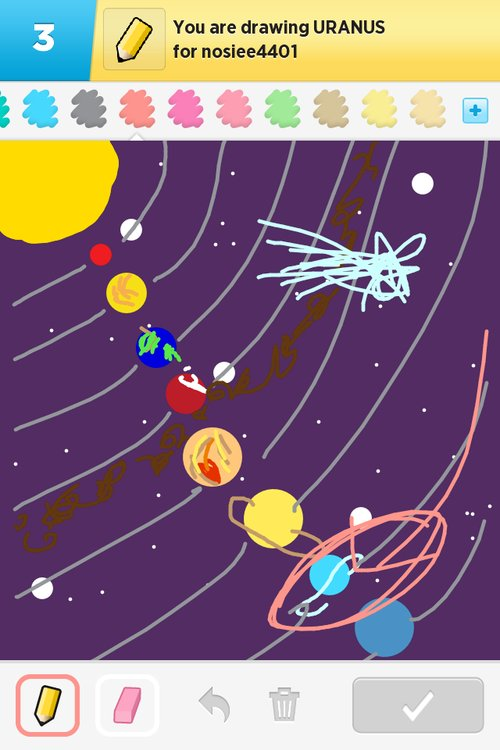How To Draw Uranus : uranus, Uranus, Drawings, Something, IPhone,, IPad,, Android!