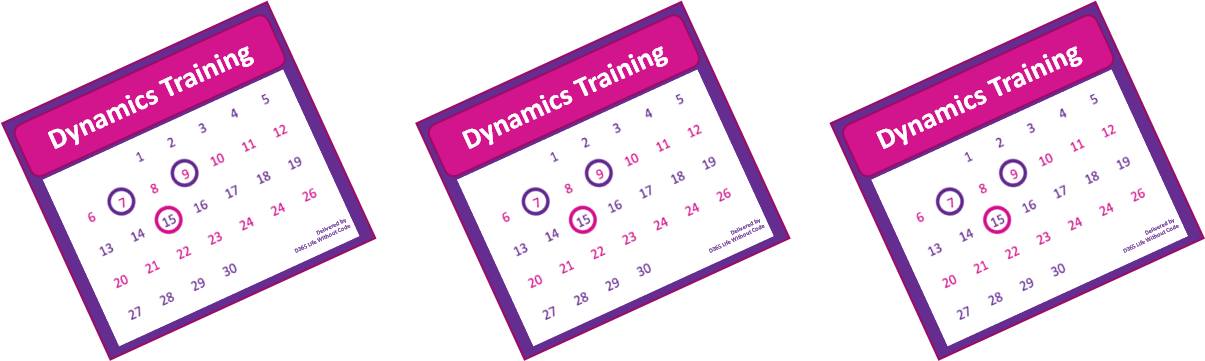 D365 Life Without Code training options