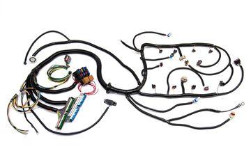03 07 Vortec W 4l60e Standalone Wiring Harness Dbw,W