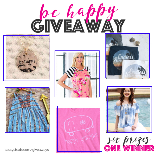 Be Happy Giveaway