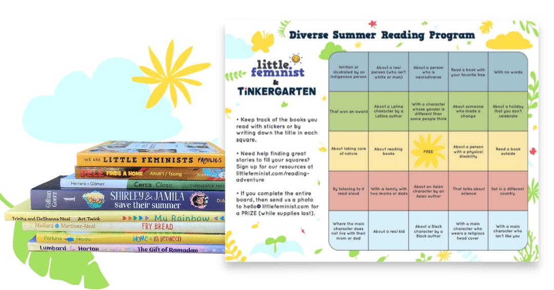 Little Feminist Book Club Summer Reading Program