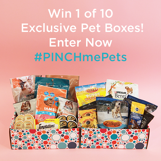 PINCHme Pet Box Giveaway! Ends 7/21 {US}