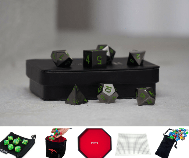 Win This Metal Dice + Table-Top Gaming Pack - Value: $138