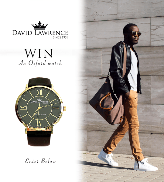 WIN! A David Lawrence Watch!