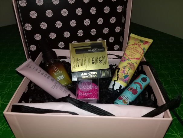 The Best Review Blog's August Glossybox Giveaway!  International Competition! {WW}