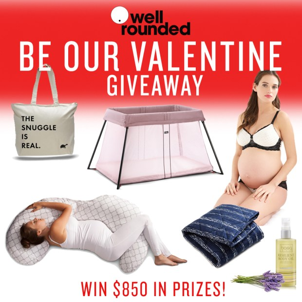 Be Our Valentine $850 Giveaway