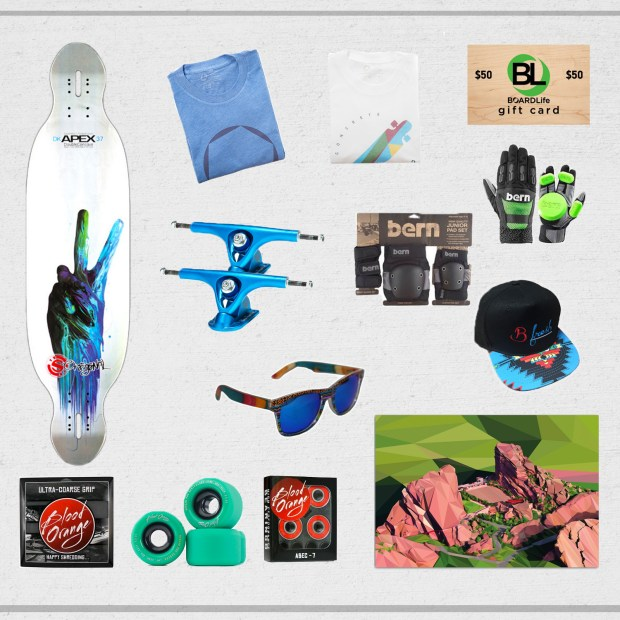 Ultimate Longboard Giveaway