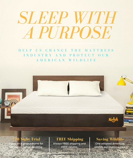 Win Your Very Own Nolah Mattress!