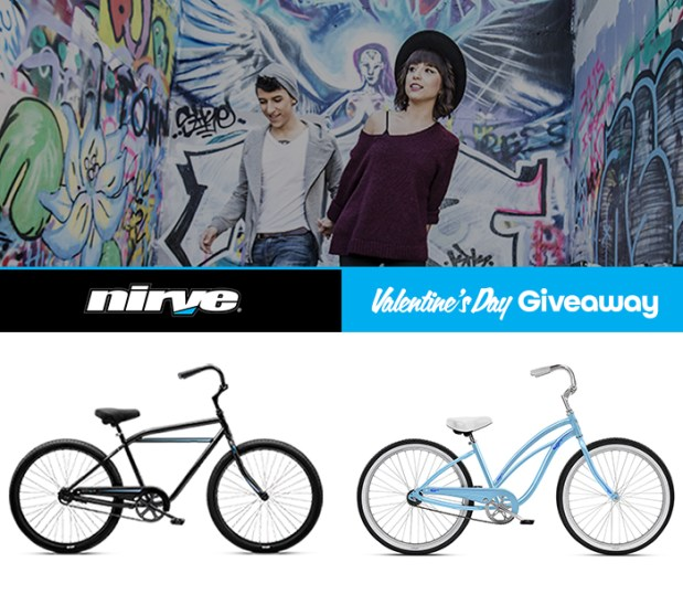Win a pair of NIRVE Beach Cruisers!