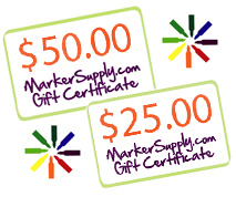 Win A Marker Supply Gift Certificate!