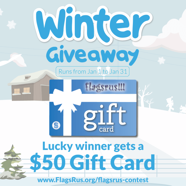FlagsRus $50 Gift Card Giveaway