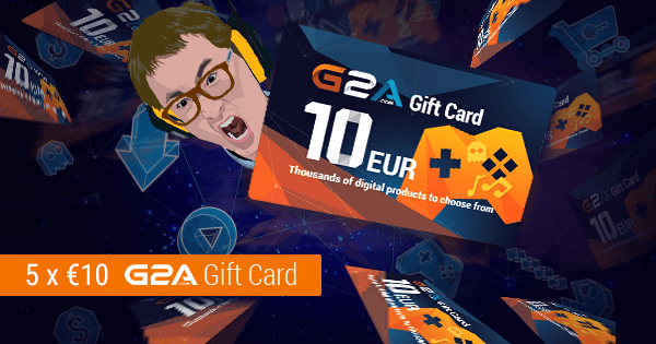 5 x 10 EUR G2A Giftcard