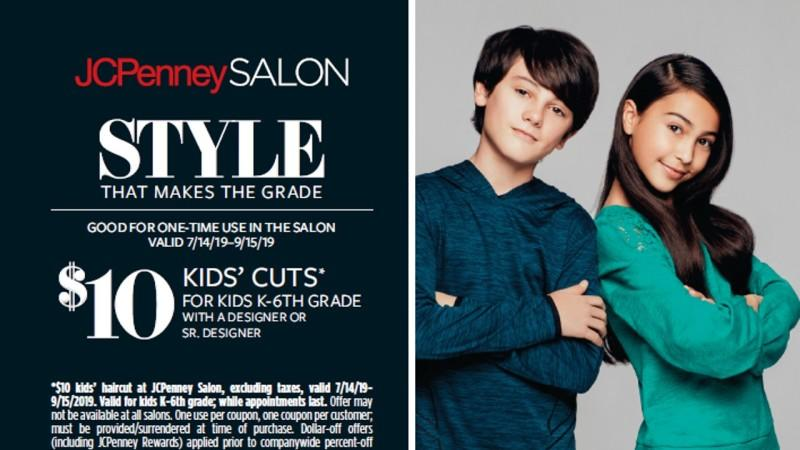 kids cuts at jcpenney
