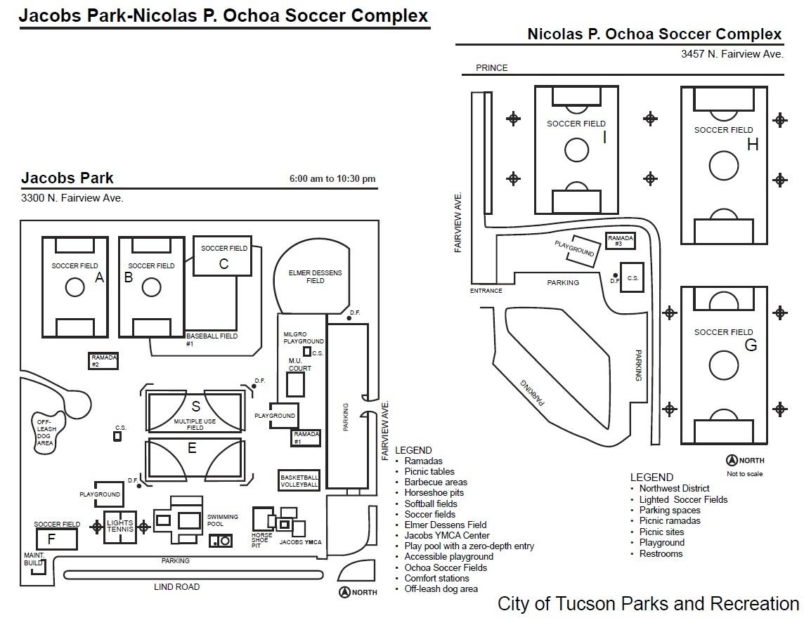 Jacobs Park And Ochoa Soccer Complex