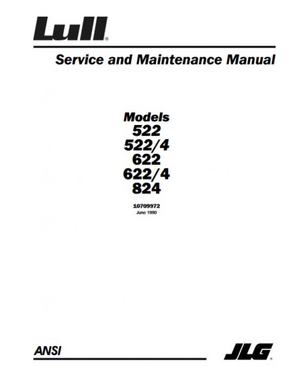 Lull Forklift Manuals