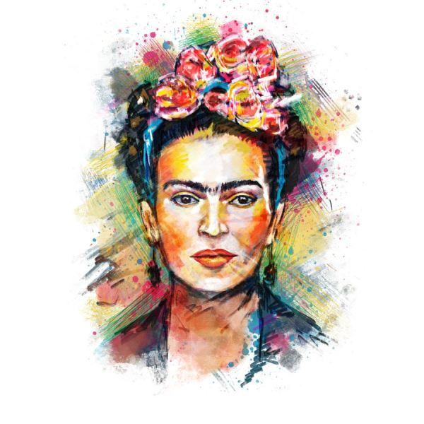 Frida Kahlo Portrayed Artists World
