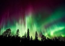 Japanese Tourists Conceiving Under Northern Lights