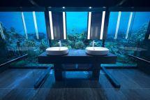 Underwater Villa In Maldives Lets Sleep With