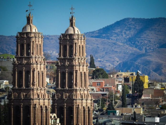 Chihuahua Mexico's Cathedral towers
