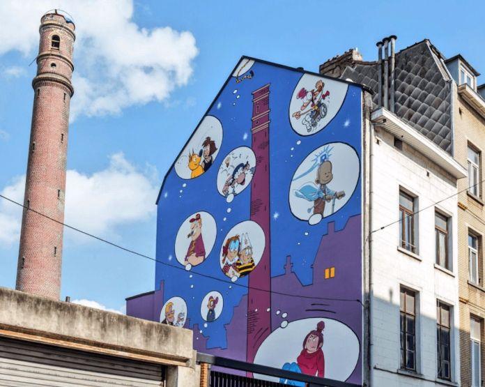 Zidrou mural