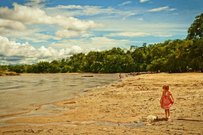 Playas de los Monos in Ecuador